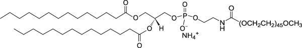 二肉豆蔻酰磷脂酰乙醇胺-聚乙二醇2000