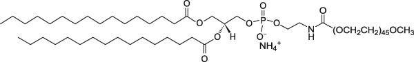 二棕榈酰磷脂酰乙醇胺-聚乙二醇2000