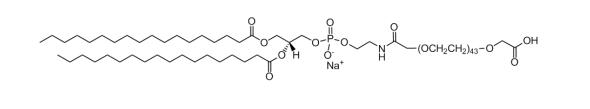 二硬脂酰磷脂酰乙酰胺-聚乙二醇2000-羧酸