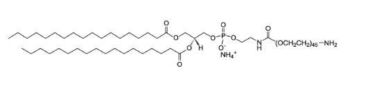二硬脂酰磷脂酰乙酰胺-聚乙二醇2000-胺