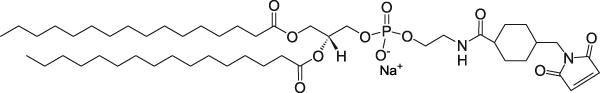 二棕榈酰磷脂酰乙醇胺-N-[4-(对马来酰亚胺甲基)环己烷甲酰胺](钠盐)