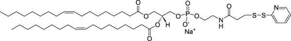 二油酰基磷脂酰乙醇胺-N-[3-(2-吡啶基二硫代)丙酸盐](钠盐)
