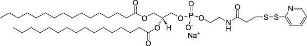 二棕榈酰磷脂酰乙醇胺-N-[3-(2-吡啶基二硫代)丙酸盐](钠盐)