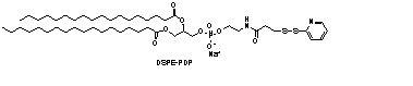 二硬酯酰磷脂酰乙醇胺-N-[3-(2-吡啶基二硫代)丙酸盐](钠盐)