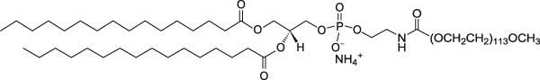 二棕榈酰磷脂酰乙醇胺-聚乙二醇5000
