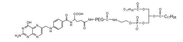 二硬酯酰磷脂酰乙醇胺-聚乙二醇-叶酸