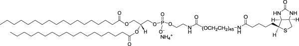二硬酯酰乙醇胺-聚乙二醇2000-生物素