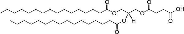 1,2-二棕榈酰-sn-甘油-3-琥珀酸