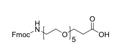 5,8,11,14,17-五氧杂-2-氮杂二十碳二酸 1-(9H-芴-9-基甲基)酯