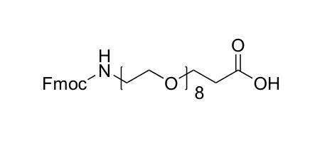 5,8,11,14,17,20,23,26-八氧杂-2-氮杂二十九碳二酸 1-(9H-芴-9-基甲基)酯
