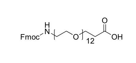 N-芴甲氧羰基-十二聚乙二醇-羧酸