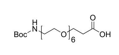Boc-21-氨基-4,7,10,13,16,19-六氧杂二十一烷酸 (https://www.shochem.cn/)  第1张
