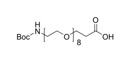 N-叔丁氧羰基-七聚乙二醇-羧酸