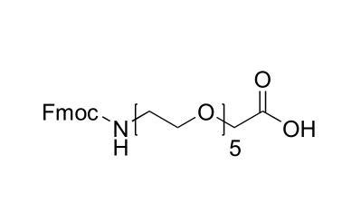 5,8,11,14,17-五氧杂-2-氮杂十九烷二酸 1-芴甲基酯