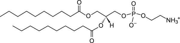 1,2-二癸酰基-sn-甘油-3-磷酸乙醇胺
