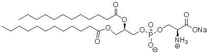 1,2-二月桂酰-sn-甘油-3-磷酸-L-丝氨酸钠盐(DLPS)