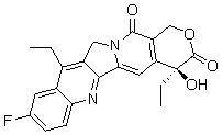 10-氟-7-乙基喜树碱