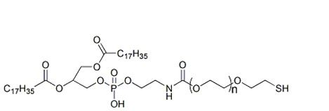 二硬酯酰磷脂酰乙醇胺-聚乙二醇-巯基