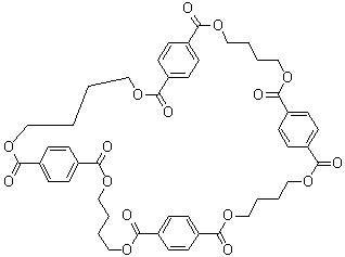 环对苯二甲酸丁二醇酯四聚体