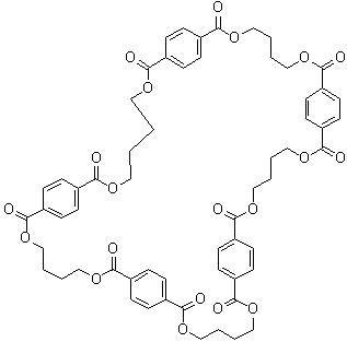 环对苯二甲酸丁二醇酯五聚体