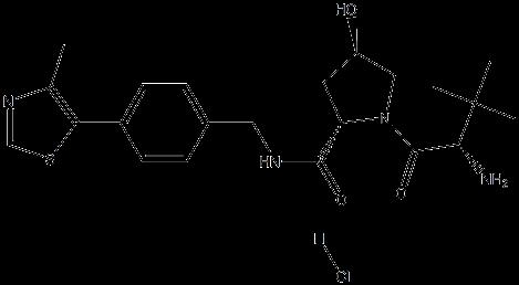 (2S,4R)-1-((S)-2-氨基-3,3-二甲基丁酰基)-4-羟基-N-(4-(4-甲基噻唑-5-基)苄基)吡咯烷-2-甲酰胺盐酸盐 (https://www.shochem.cn/)  第1张